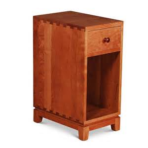 Narrow Nightstand Narrow Dovetail One Drawer Nightstand Furniture
