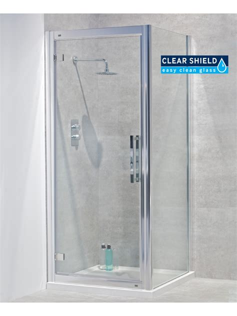 760 Shower Door Avante 8mm 760 X 760 Hinged Shower Door