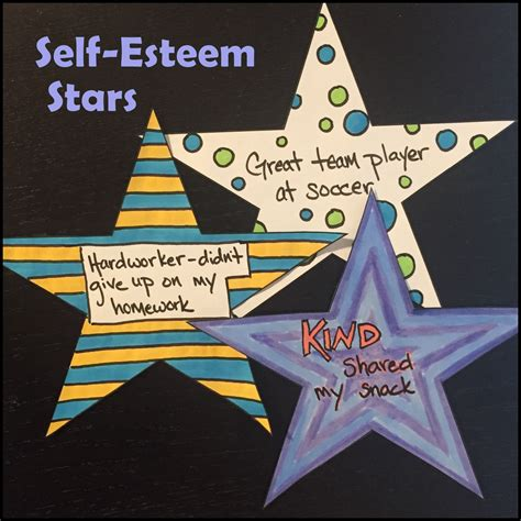 self esteem crafts for self esteem an activity to build confidence and