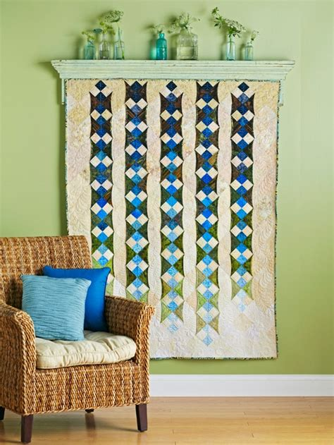 Quilt Hanging by The Chronicles Of Home Diy How To Hang A Quilt