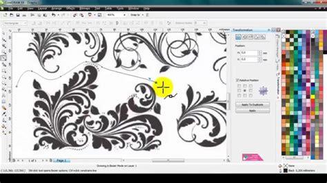 tutorial gambar kartun corel draw cara mengambil objek gambar satu satu di corel draw