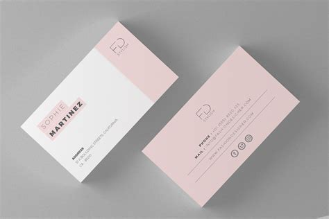 minimal business card template minimalist business cards graphic by misteroneart