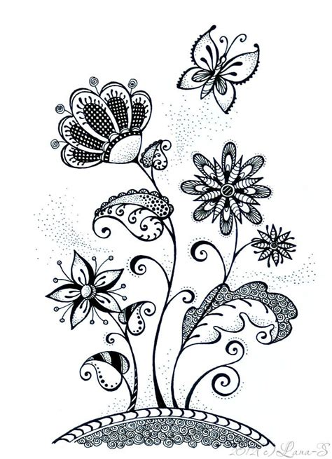zentangle pattern floral 839 best butterfly designs and zentangles images on