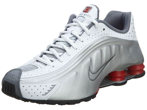 Nike Shox Import Size 40 45 nike shox r4 mens 104265 126 white silver running shoes sneakers size 13 what s it worth