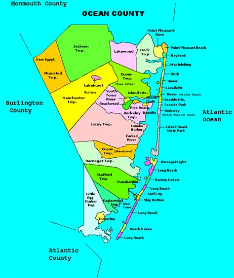 nj county map map of new jersey new jersey maps mapsof net