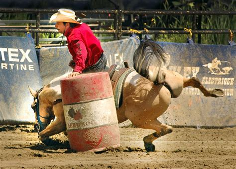 horse photography barrel racing 1