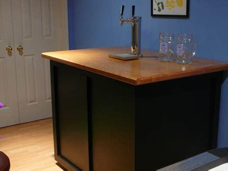 Custom Kegerator Cabinet by Custom Kegerators