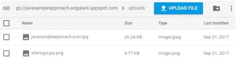 Firebase Hosting Upload