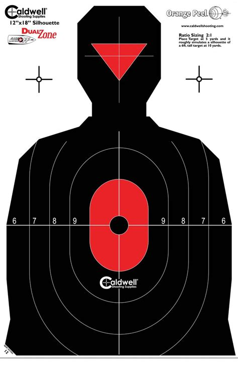 best printable shooting targets 17 best images about printable targets on pinterest