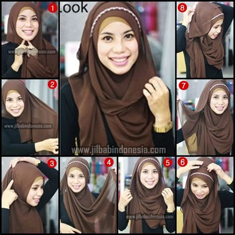 tutorial hijab pashmina polos 34 best images about hijab tutorials on pinterest