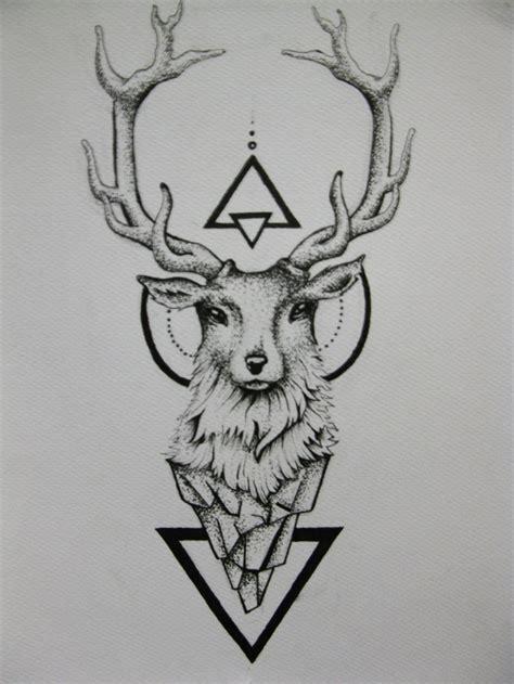 deer head tattoo designs 60 deer tattoos ideas and meanings