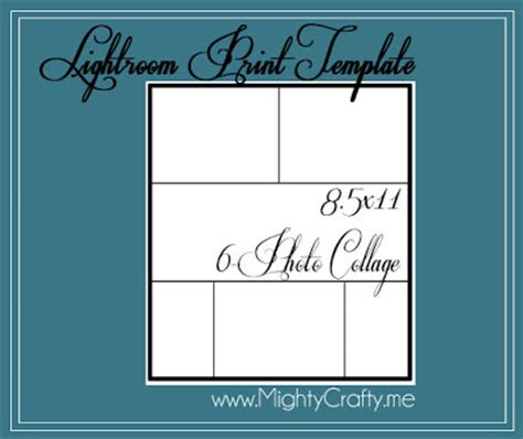 print templates for lightroom mightycrafty lightroom 3 print templates