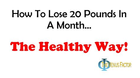 How To Shed Weight In A Month by How To Lose 20 Pounds In A Month The Right Way