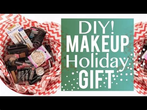 d i y drugstore makeup gift set last minute gift idea