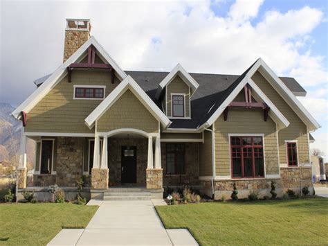 house of color porch designs for ranch homes with stones pictures
