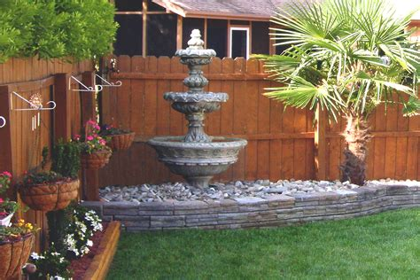 water fountain in backyard garden finance types of garden fountains garden finance