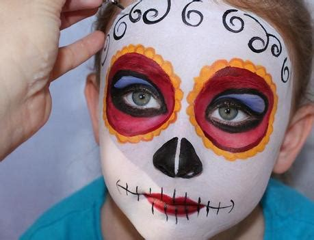 imagenes de maquillaje halloween para niños halloween maquillaje para ni 241 os paperblog