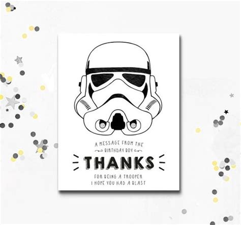 printable star wars thank you cards free war stars and star wars on pinterest