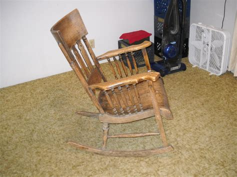 Solid Oak Rocking Chair by 75 Plus Year Solid Oak Rocking Chair Collectors Weekly
