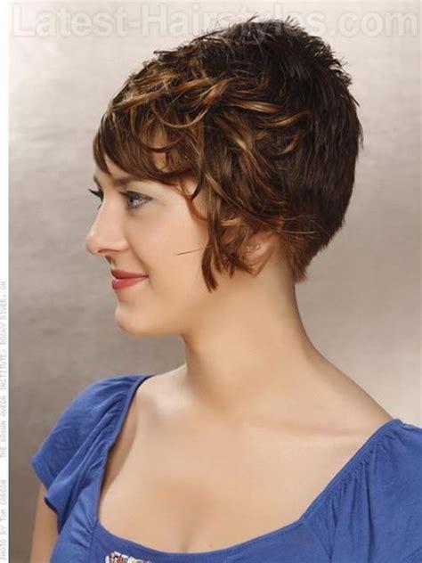 short stacked wavy bob 2013 stacked short haircuts for women