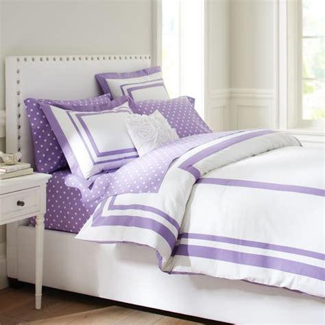Purple Duvet Suite Organic Duvet Cover Sham Purple Pbteen