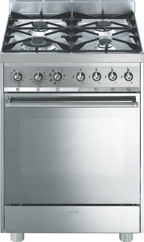 cucine a gas con forno elettrico smeg cucina a gas smeg c6gmxi forno elettrico ventilato 60x60