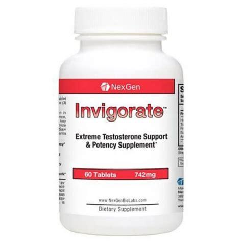 Suplemen Testosteron invigorate best otc testosterone supplement