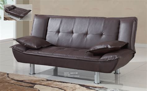 br casting couch sofa bed sb012 brown by global furniture
