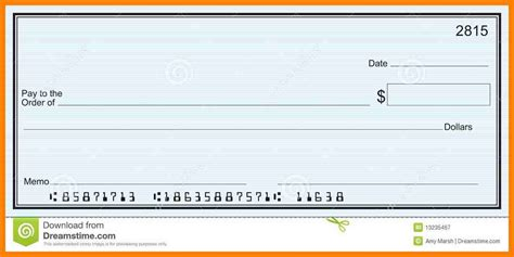 Fake Blank Check Template Www Imgkid Com The Image Kid Large Presentation Cheques