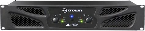 Power Lifier Crown Xli 1500 crown xli 1500 thomann united states