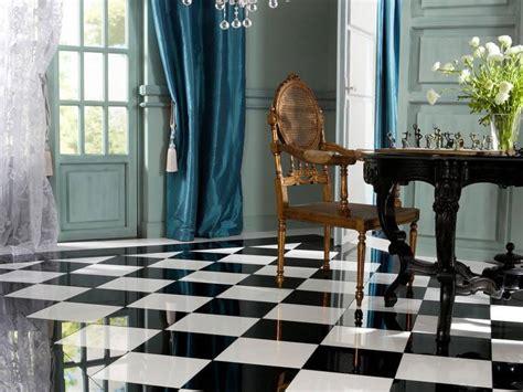 Formidable Carrelage Cuisine Damier Noir Et Blanc #2: Leroy-Merlin-carrelage-damier-en-marbre-brillant-en-noir-et-blanc-201210261859034l.jpg