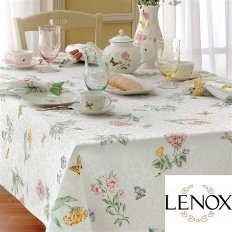 butterfly meadow tablecloth by lenox altmeyers bedbathhome