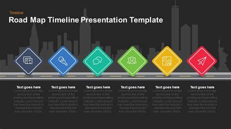 Powerpoint Template Road Gallery Powerpoint Template And Layout Powerpoint Road Template