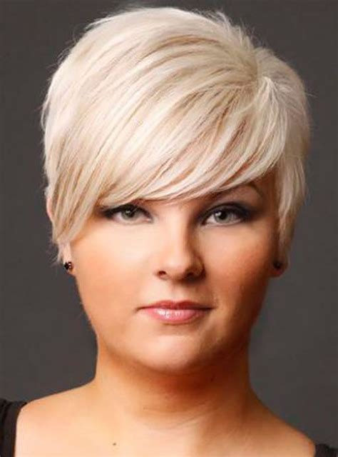 haircuts for thin hair chubby face short haircuts for fat faces and fine hair short hair