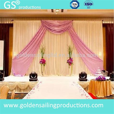Ceiling Drapes For Sale wedding decoration ceiling drape fabric pipe and drape