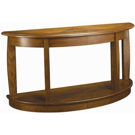 oak sofa table hammary ascend sofa table in medium oak t2083289 00