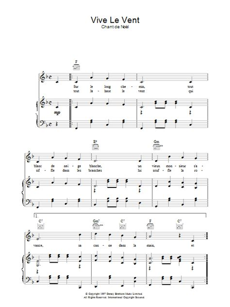 tutorial piano vive le vent yamaha musicsoft vive le vent christmas carol chant de