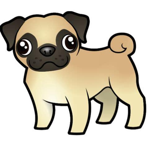 comic pug pug photo cutouts zazzle