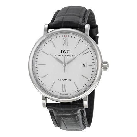 Iwc Schaff Hausen Portofino iwc portofino automatic silver s 3565 01