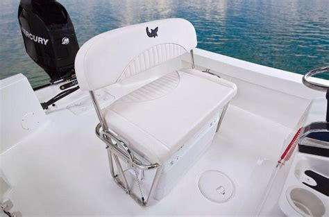 removable center console for bench seat mako 184 cc mako calls this optional helm bench a quot flip