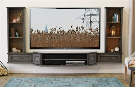 diy wall unit entertainment center shopify com wall mounting ideas pinterest diy