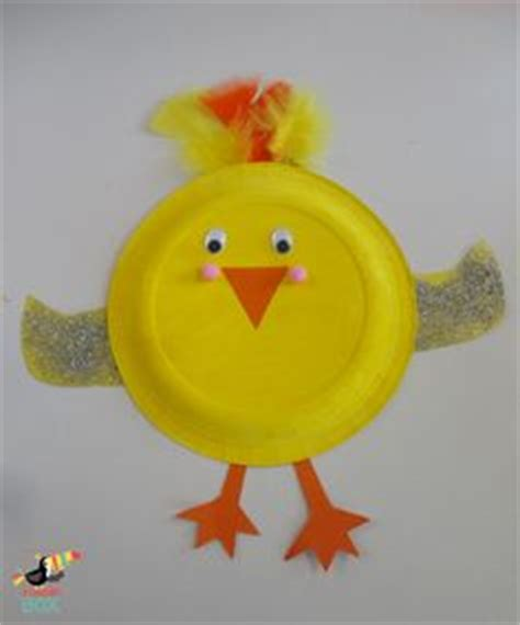 Paper Plate Chicken Craft - crafting paper plate crafts on 42 pins