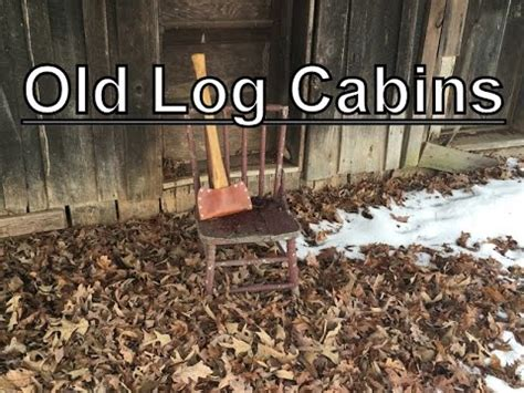 Log Cabin Giveaway - old log cabins first giveaway youtube