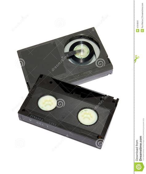cassette beta cassetes de la videocinta formato beta imagen de archivo
