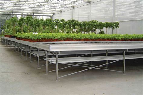 greenhouse bench systems designed to handle any space