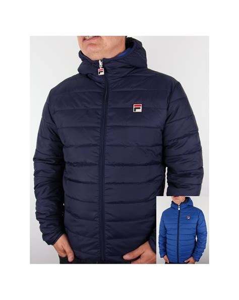 Reversible Puffer Jacket fila vintage pallia reversible puffer jacket navy royal