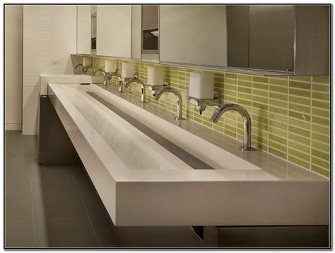 commercial sinks for bathrooms commercial trough sinks for bathrooms sink and faucets home decorating ideas