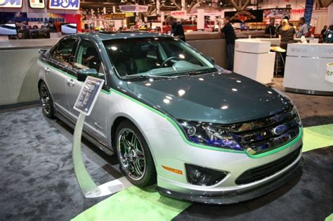 Pirus Darkgreen green can be cool customized 2010 ford fusion hybrid show car
