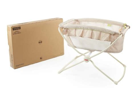 fisher price deluxe portable bassinet rock n play 171 crib