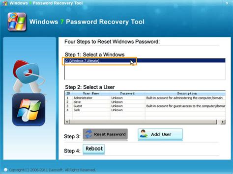 reset tool windows 7 how to recover windows 7 administrator password